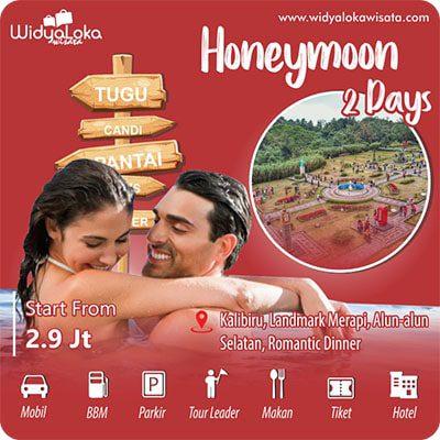 honeymoon jogja 2 day