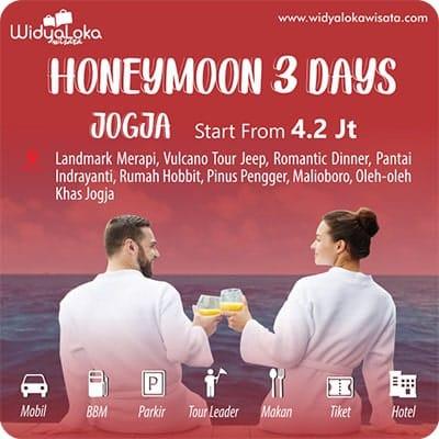 honeymoon jogja 3 day