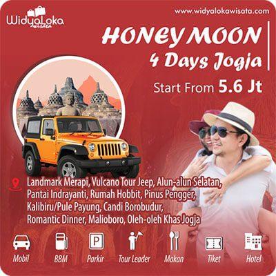 honeymoon jogja 4 day