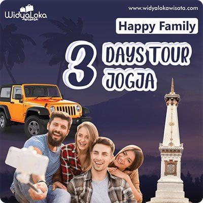 Paket Wisata Jogja 3 Hari