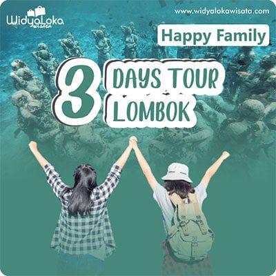 paket wisata lombok 3 hari