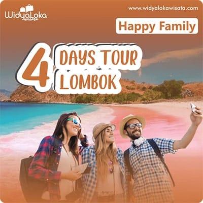 paket wisata lombok 4 hari