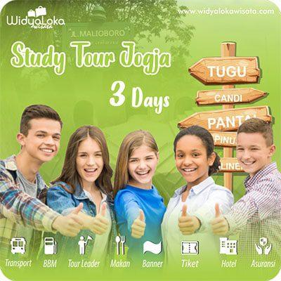 study tour jogja paket 3 hari