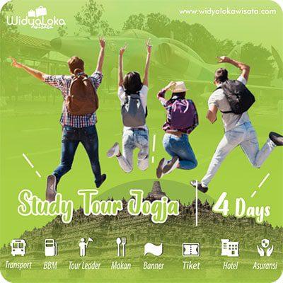 study tour jogja paket 4 hari