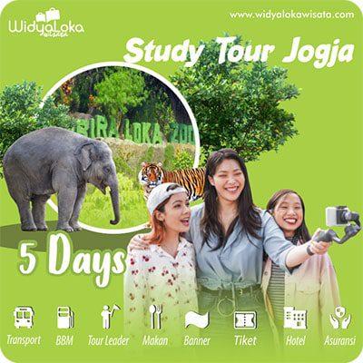 study tour jogja paket 5 hari