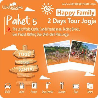 tour 2 hari jogja paket 5