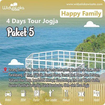 tour 4 hari jogja paket 5