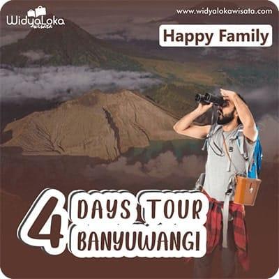 Paket Wisata Banyuwangi 4 Hari