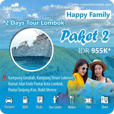 wisata lombok 2 hari paket 2