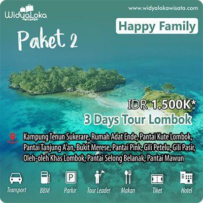 wisata lombok 3 hari paket 2