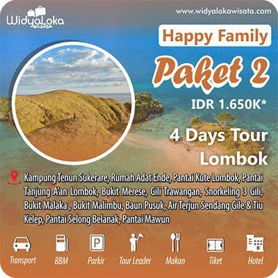 wisata lombok 4 hari paket 2